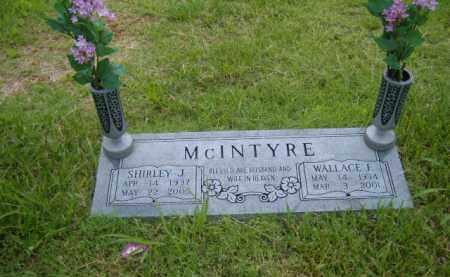 MCINTYRE, WALLACE F. - Washington County, Arkansas | WALLACE F. MCINTYRE - Arkansas Gravestone Photos