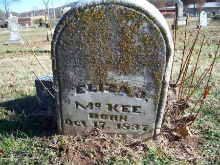 MCKEE, ELIZA J. - Washington County, Arkansas | ELIZA J. MCKEE - Arkansas Gravestone Photos
