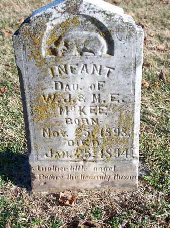 MCKEE, INFANT DAUGHTER - Washington County, Arkansas | INFANT DAUGHTER MCKEE - Arkansas Gravestone Photos