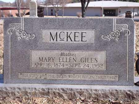 MCKEE, MARY ELLEN - Washington County, Arkansas | MARY ELLEN MCKEE - Arkansas Gravestone Photos