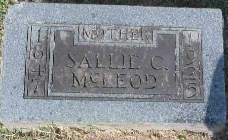 COPELAND MCLEOD, SALLIE - Washington County, Arkansas | SALLIE COPELAND MCLEOD - Arkansas Gravestone Photos