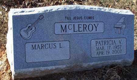 MCLEROY, PATRICIA V. - Washington County, Arkansas   PATRICIA V. MCLEROY - Arkansas Gravestone Photos