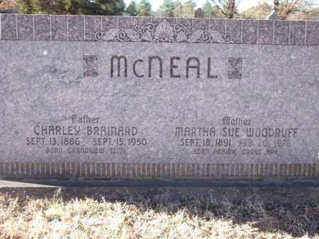 MCNEAL, CHARLEY BRAINARD - Washington County, Arkansas | CHARLEY BRAINARD MCNEAL - Arkansas Gravestone Photos
