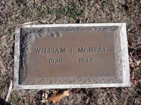 MCNEAL, WILLIAM E. - Washington County, Arkansas | WILLIAM E. MCNEAL - Arkansas Gravestone Photos
