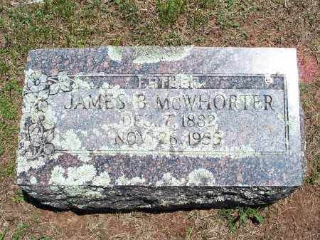 MCWHORTER, JAMES B. - Washington County, Arkansas | JAMES B. MCWHORTER - Arkansas Gravestone Photos