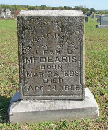 MEDEARIS, ROBERT RALPH - Washington County, Arkansas   ROBERT RALPH MEDEARIS - Arkansas Gravestone Photos
