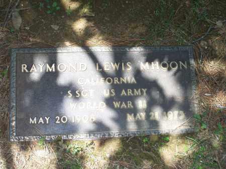 MHOON (VETERAN WWII), RAYMOND LEWIS - Washington County, Arkansas | RAYMOND LEWIS MHOON (VETERAN WWII) - Arkansas Gravestone Photos