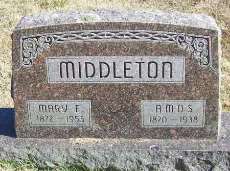 MIDDLETON, MARY E - Washington County, Arkansas | MARY E MIDDLETON - Arkansas Gravestone Photos