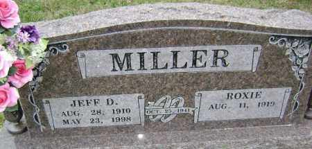MILLER, JEFF D. - Washington County, Arkansas | JEFF D. MILLER - Arkansas Gravestone Photos