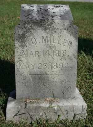 MILLER, T. Q. - Washington County, Arkansas | T. Q. MILLER - Arkansas Gravestone Photos