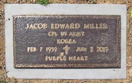 MILLER (VETERAN KOR), JACOB EDWARD - Washington County, Arkansas   JACOB EDWARD MILLER (VETERAN KOR) - Arkansas Gravestone Photos