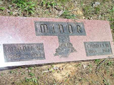 MINOR, CHARLES W. (2) - Washington County, Arkansas | CHARLES W. (2) MINOR - Arkansas Gravestone Photos