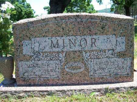MINOR, MINNIE K. - Washington County, Arkansas | MINNIE K. MINOR - Arkansas Gravestone Photos