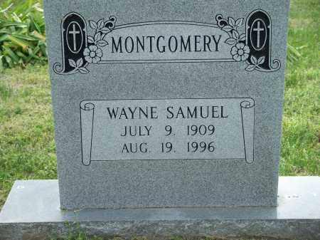 MONTGOMERY, WAYNE SAMUEL - Washington County, Arkansas | WAYNE SAMUEL MONTGOMERY - Arkansas Gravestone Photos