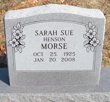 MORSE, SARAH SUE - Washington County, Arkansas | SARAH SUE MORSE - Arkansas Gravestone Photos