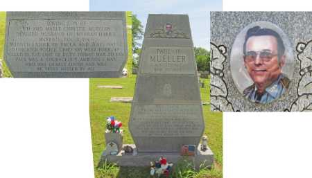 MUELLER, PAUL H. (POLICE CHIEF DIED IN DUTY) - Washington County, Arkansas   PAUL H. (POLICE CHIEF DIED IN DUTY) MUELLER - Arkansas Gravestone Photos