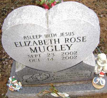 MUGLEY, ELIZABETH ROSE - Washington County, Arkansas | ELIZABETH ROSE MUGLEY - Arkansas Gravestone Photos