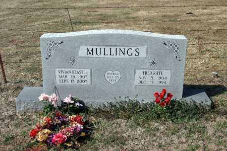 MULLINGS, FRED RIFFE - Washington County, Arkansas   FRED RIFFE MULLINGS - Arkansas Gravestone Photos
