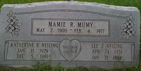 MUMY, MAMIE ROSE - Washington County, Arkansas | MAMIE ROSE MUMY - Arkansas Gravestone Photos