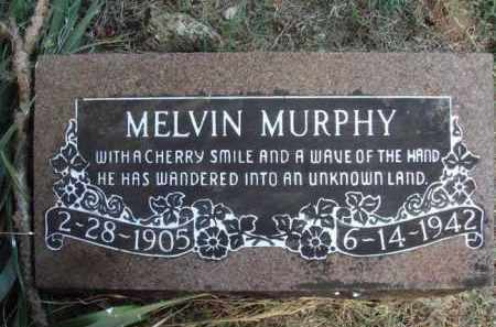 MURPHY, MELVIN - Washington County, Arkansas   MELVIN MURPHY - Arkansas Gravestone Photos