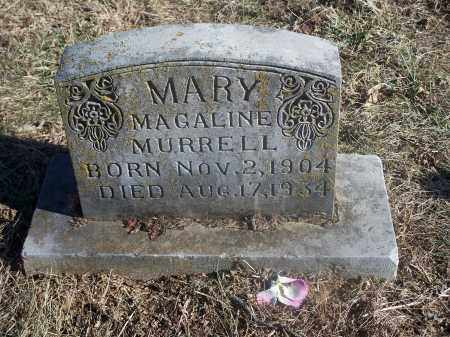 MURRELL, MARY MAGALINE - Washington County, Arkansas | MARY MAGALINE MURRELL - Arkansas Gravestone Photos