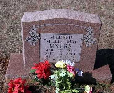 "MYERS, MILDRED ""MILLIE"" MAY - Washington County, Arkansas 