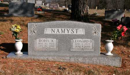 NAMYST, DORIS K. - Washington County, Arkansas | DORIS K. NAMYST - Arkansas Gravestone Photos