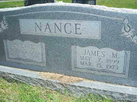 NANCE, JAMES M. - Washington County, Arkansas | JAMES M. NANCE - Arkansas Gravestone Photos