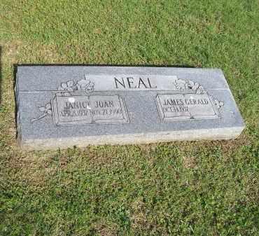 NEAL, JANICE JOAN - Washington County, Arkansas   JANICE JOAN NEAL - Arkansas Gravestone Photos