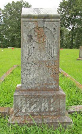 NEAL, JOHN F - Washington County, Arkansas | JOHN F NEAL - Arkansas Gravestone Photos