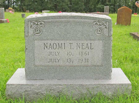 NEAL, NAOMI T - Washington County, Arkansas | NAOMI T NEAL - Arkansas Gravestone Photos