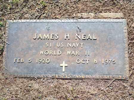 NEAL (VETERAN WWII), JAMES H - Washington County, Arkansas | JAMES H NEAL (VETERAN WWII) - Arkansas Gravestone Photos
