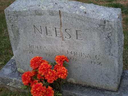 NEESE, LOUISA C. - Washington County, Arkansas | LOUISA C. NEESE - Arkansas Gravestone Photos