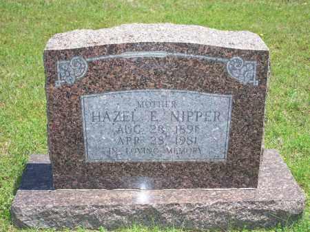 NIPPER, HAZEL E. - Washington County, Arkansas | HAZEL E. NIPPER - Arkansas Gravestone Photos