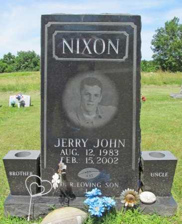 NIXON, JERRY JOHN - Washington County, Arkansas | JERRY JOHN NIXON - Arkansas Gravestone Photos
