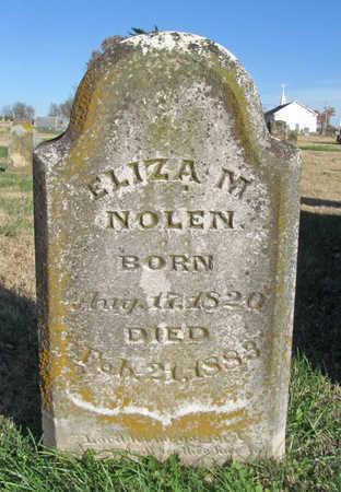 NOLEN, ELIZA M - Washington County, Arkansas   ELIZA M NOLEN - Arkansas Gravestone Photos