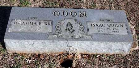 ODOM ALDRIDGE, JUANOMA - Washington County, Arkansas   JUANOMA ODOM ALDRIDGE - Arkansas Gravestone Photos