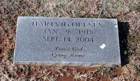 OLESEN, HARTVIG - Washington County, Arkansas | HARTVIG OLESEN - Arkansas Gravestone Photos