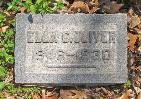 OLIVER, ELLA VIRGINIA - Washington County, Arkansas   ELLA VIRGINIA OLIVER - Arkansas Gravestone Photos