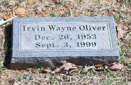 OLIVER, IRVIN WAYNE - Washington County, Arkansas   IRVIN WAYNE OLIVER - Arkansas Gravestone Photos