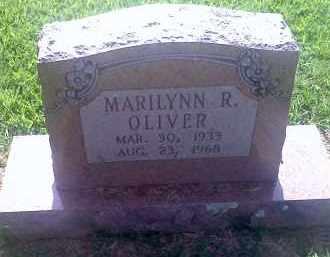 OLIVER, MARILYNN R. - Washington County, Arkansas | MARILYNN R. OLIVER - Arkansas Gravestone Photos