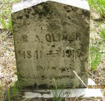 OLIVER, R A - Washington County, Arkansas | R A OLIVER - Arkansas Gravestone Photos