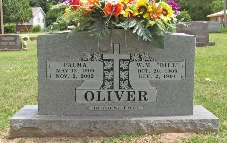 "OLIVER, WILLIAM MILLER ""BILL"" - Washington County, Arkansas 