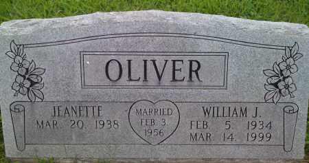 OLIVER, WILLIAM J. - Washington County, Arkansas | WILLIAM J. OLIVER - Arkansas Gravestone Photos