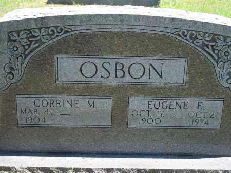 OSBON, ELMER EUGENE - Washington County, Arkansas | ELMER EUGENE OSBON - Arkansas Gravestone Photos