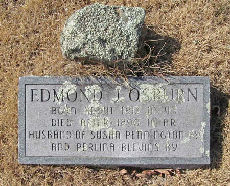 OSBURN, EDMOND J - Washington County, Arkansas   EDMOND J OSBURN - Arkansas Gravestone Photos
