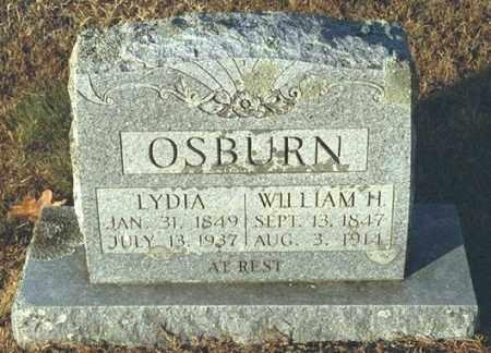EVANS OSBURN, LYDIA - Washington County, Arkansas   LYDIA EVANS OSBURN - Arkansas Gravestone Photos