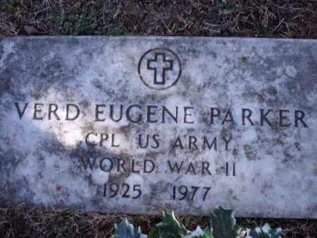 PARKER (VETERAN WWII), VERD EUGENE - Washington County, Arkansas | VERD EUGENE PARKER (VETERAN WWII) - Arkansas Gravestone Photos
