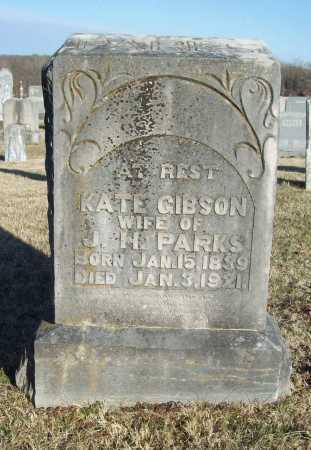 GIBSON PARKS, KATE - Washington County, Arkansas   KATE GIBSON PARKS - Arkansas Gravestone Photos
