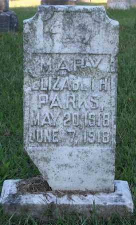 PARKS, MARY ELIZABETH - Washington County, Arkansas | MARY ELIZABETH PARKS - Arkansas Gravestone Photos